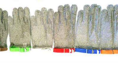 Metal mesh glove sizes